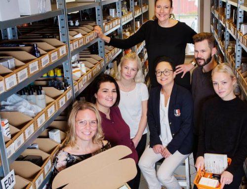 Skriver för Entreprenör om duktiga e-handlarna Fina Mig